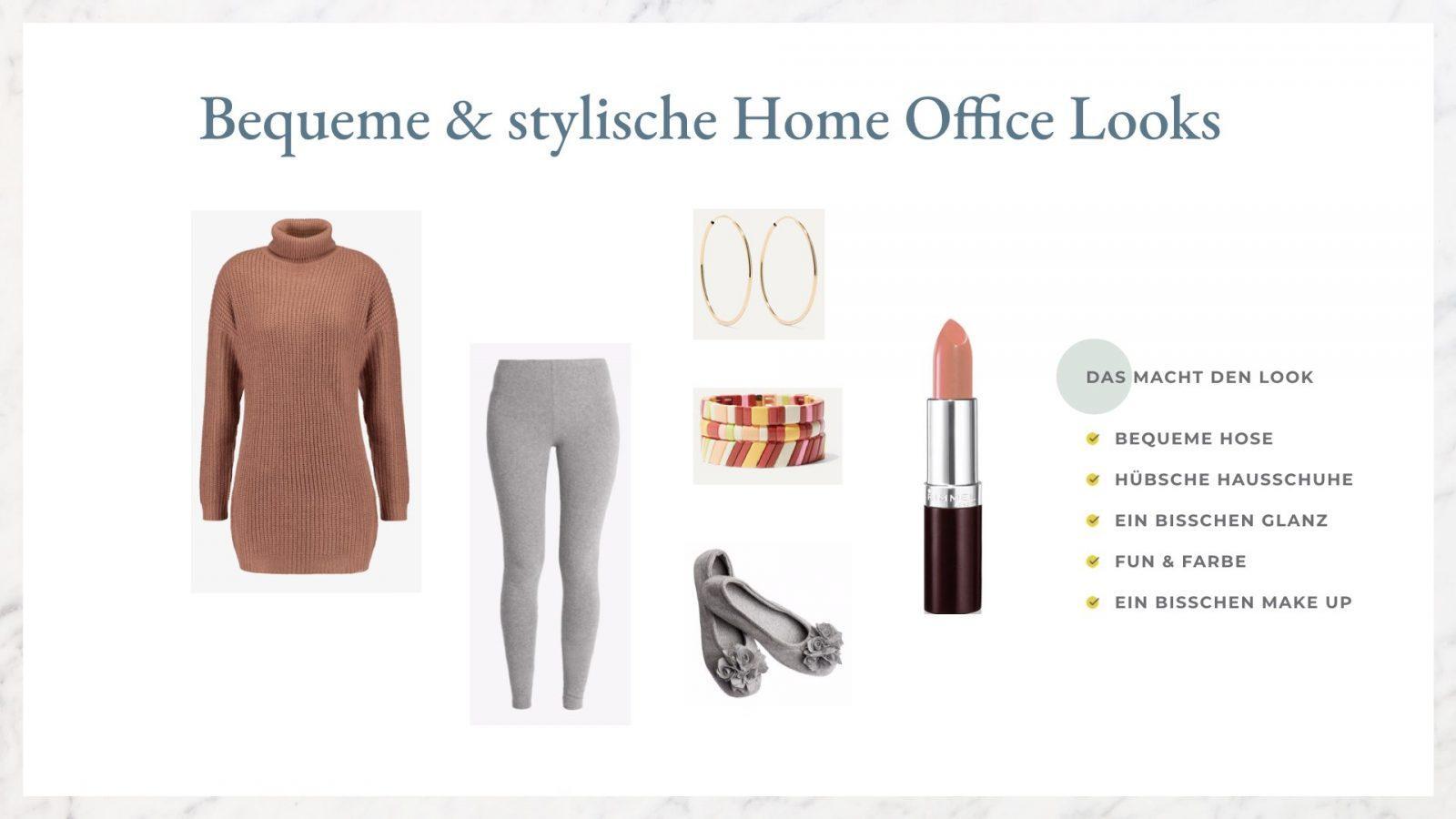 Home Office was anziehen